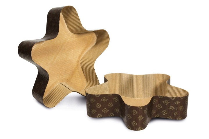 Star shaped paper mould