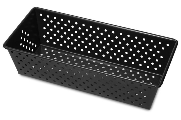 Perforated loaf pan