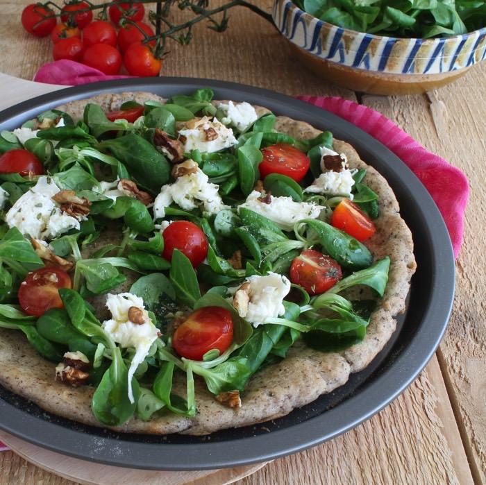 Pizza vegetariana senza Glutine